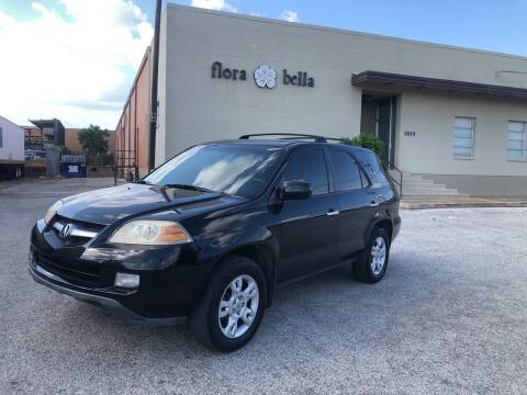 2006 Acura MDX for sale at Dynasty Auto in Dallas TX
