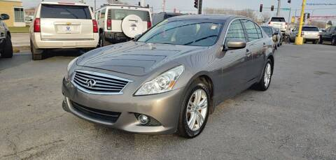 2011 Infiniti G37 Sedan for sale at I-80 Auto Sales in Hazel Crest IL