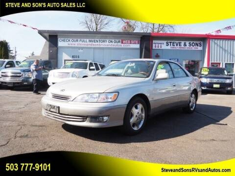 2001 Lexus ES 300 for sale at Steve & Sons Auto Sales in Happy Valley OR