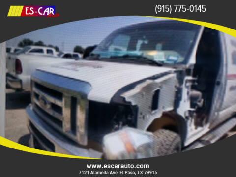 2011 Ford E-Series Cargo for sale at Escar Auto in El Paso TX