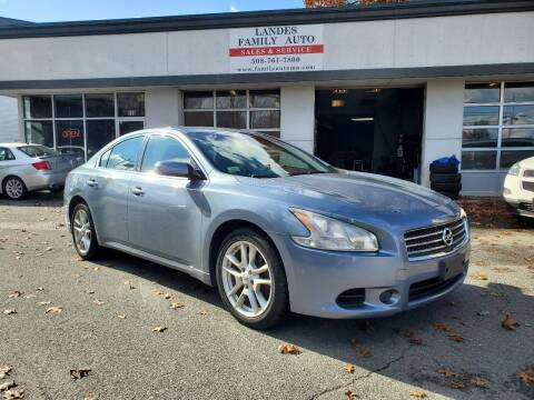 2010 Nissan Maxima for sale at Landes Family Auto Sales in Attleboro MA