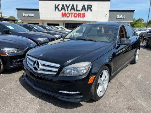 2011 Mercedes-Benz C-Class for sale at KAYALAR MOTORS in Houston TX