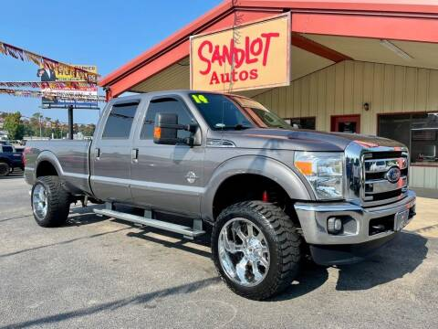 2014 Ford F-350 Super Duty for sale at Sandlot Autos in Tyler TX