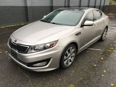 2012 Kia Optima for sale at APX Auto Brokers in Lynnwood WA