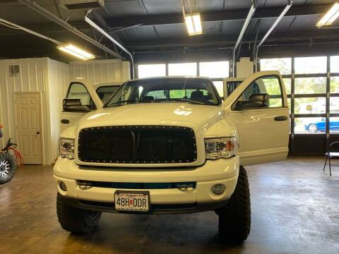 2004 Dodge Ram Pickup 2500 for sale at MJ'S Sales in Foristell MO