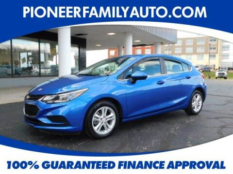 2018 Chevrolet Cruze for sale at Pioneer Family Preowned Autos in Williamstown WV
