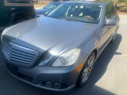 2010 Mercedes-Benz E-Class for sale at Better Auto in South Darthmouth MA