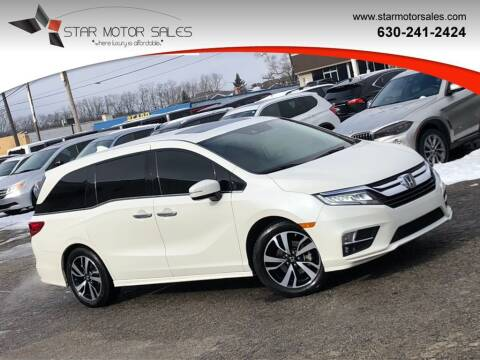 2018 Honda Odyssey for sale at Star Motor Sales in Downers Grove IL