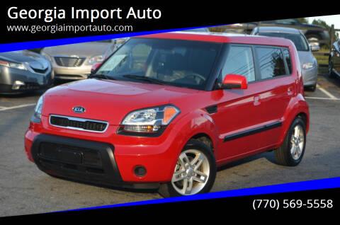 2010 Kia Soul for sale at Georgia Import Auto in Alpharetta GA