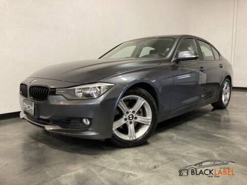 2012 BMW 3 Series for sale at BLACK LABEL AUTO FIRM in Riverside CA
