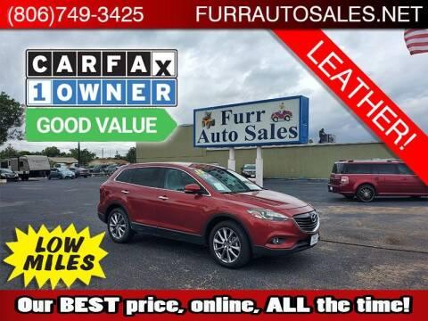 2015 Mazda CX-9 for sale at FURR AUTO SALES in Lubbock TX