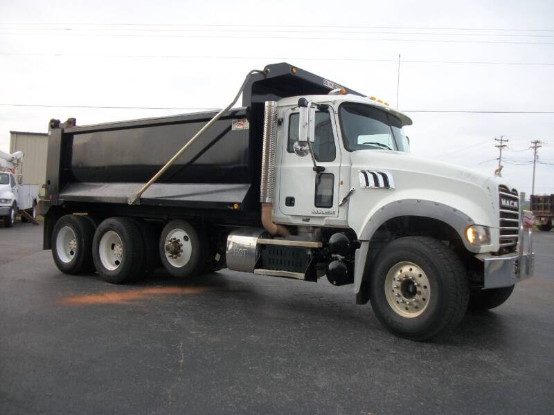 2013 Mack GU713  Dump Truck for sale at Classics Truck and Equipment Sales in Cadiz KY