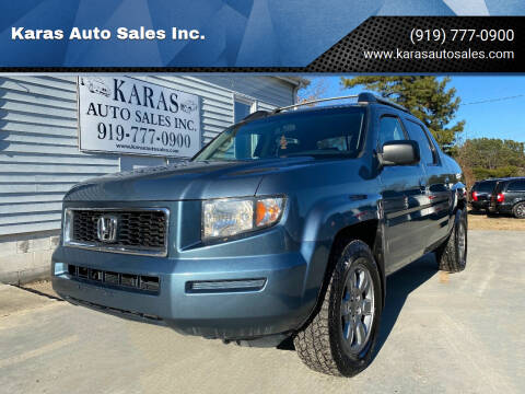 2008 Honda Ridgeline for sale at Karas Auto Sales Inc. in Sanford NC