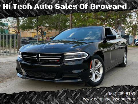 2015 Dodge Charger for sale at Hi Tech Auto Sales Of Broward in Hollywood FL