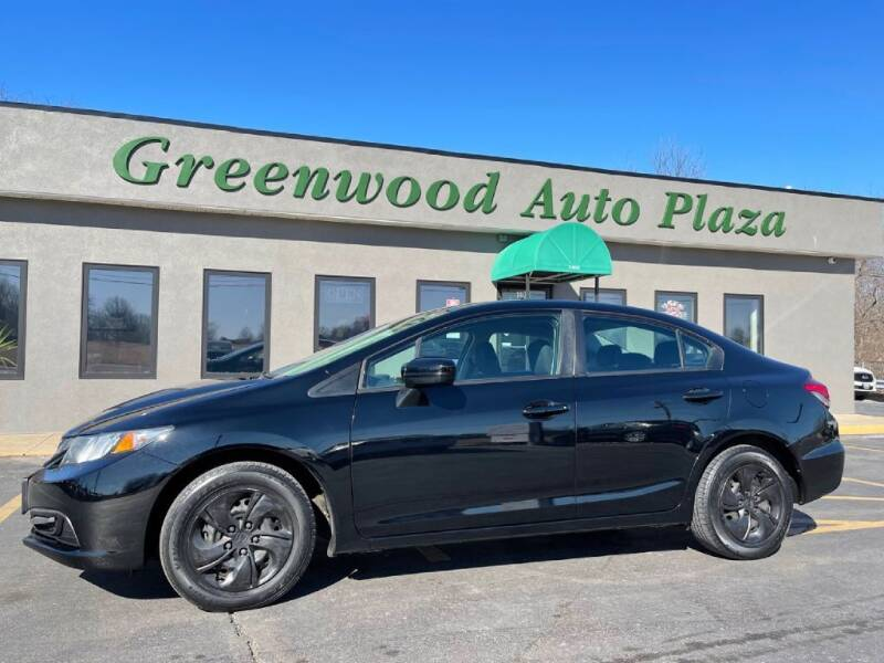 2014 Honda Civic for sale at Greenwood Auto Plaza in Greenwood MO