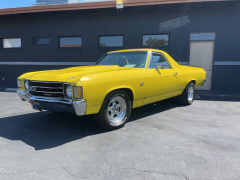 1972 Chevrolet El Camino for sale at BSL Bay Sport & Luxury in Redwood City CA