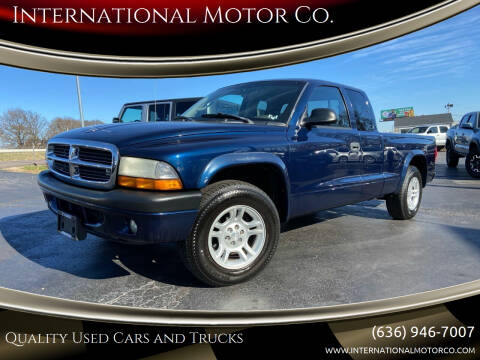 2004 Dodge Dakota for sale at International Motor Co. in St. Charles MO