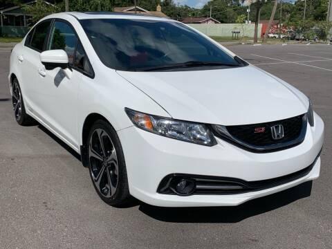 2015 Honda Civic for sale at Consumer Auto Credit in Tampa FL