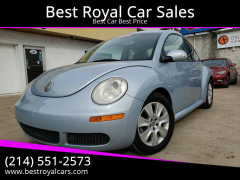 2009 Volkswagen New Beetle for sale at Best Royal Car Sales in Dallas TX
