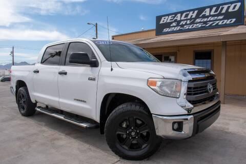 2015 Toyota Tundra for sale at Beach Auto and RV Sales in Lake Havasu City AZ