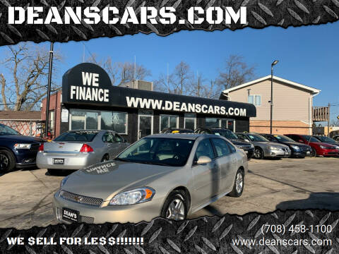 2012 Chevrolet Impala for sale at DEANSCARS.COM in Bridgeview IL