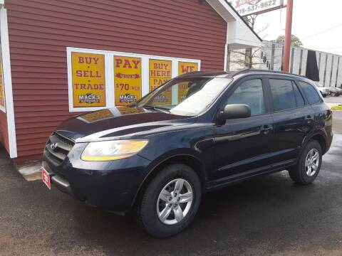 2009 Hyundai Santa Fe for sale at Mack's Autoworld in Toledo OH