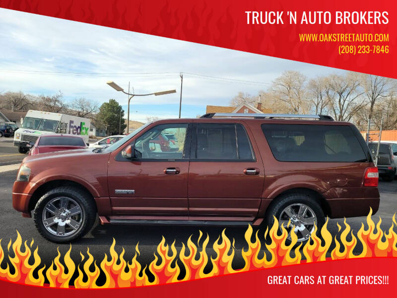 2007 Ford Expedition EL for sale at Truck 'N Auto Brokers in Pocatello ID