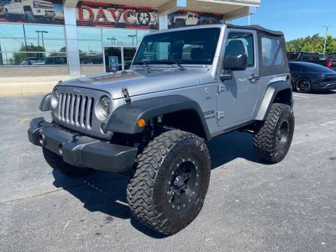 2016 Jeep Wrangler for sale at Davco Auto in Fort Wayne IN