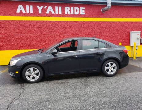 2011 Chevrolet Cruze for sale at Big Daddy's Auto in Winston-Salem NC