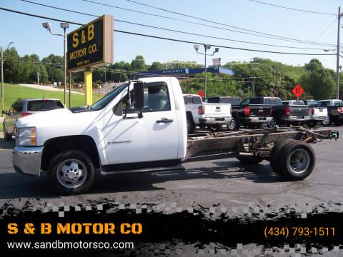2008 Chevrolet Silverado 3500HD CC for sale at S & B MOTOR CO in Danville VA