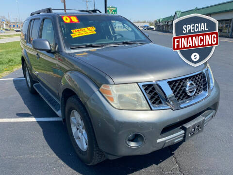 2008 Nissan Pathfinder for sale at Auto World in Carbondale IL