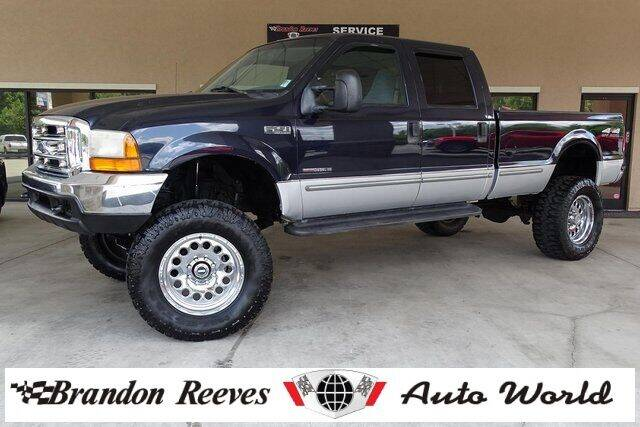 1999 Ford F-250 Super Duty for sale at Brandon Reeves Auto World in Monroe NC