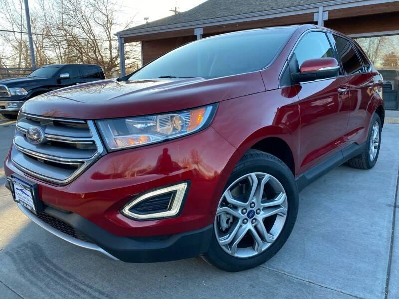 2017 Ford Edge for sale at Global Automotive Imports of Denver in Denver CO