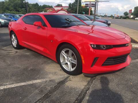 2017 Chevrolet Camaro for sale at City to City Auto Sales in Richmond VA