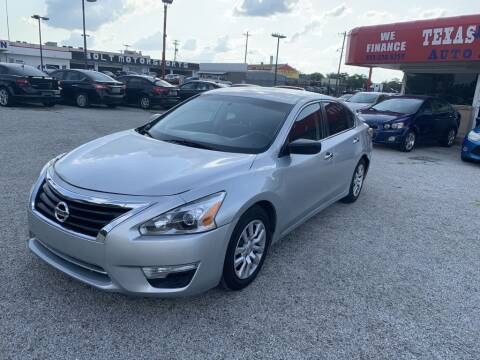 2015 Nissan Altima for sale at Texas Drive LLC in Garland TX