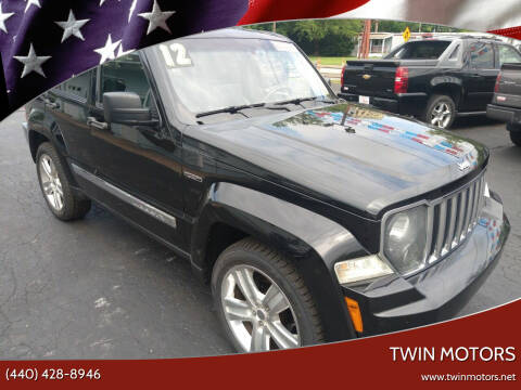 2012 Jeep Liberty for sale at TWIN MOTORS in Madison OH