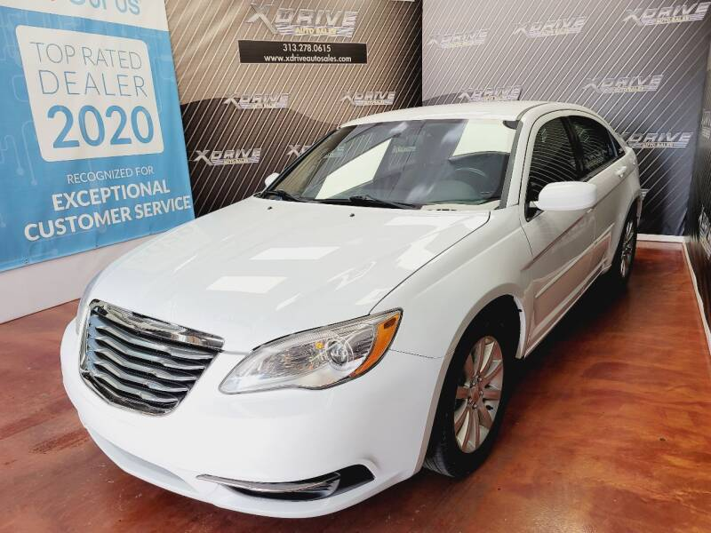 2011 Chrysler 200 for sale at X Drive Auto Sales Inc. in Dearborn Heights MI