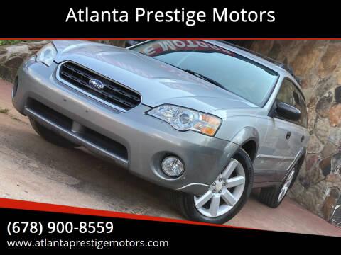 2006 Subaru Outback for sale at Atlanta Prestige Motors in Decatur GA