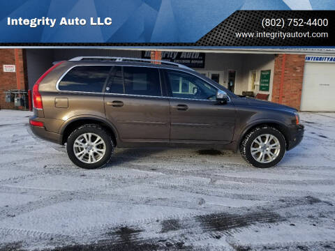 2014 Volvo XC90 for sale at Integrity Auto LLC - Integrity Auto 2.0 in St. Albans VT