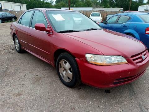 2001 Honda Accord for sale at L & J Motors in Mandan ND