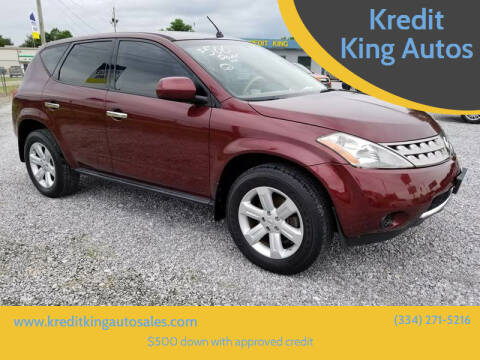 2007 Nissan Murano for sale at Kredit King Autos in Montgomery AL