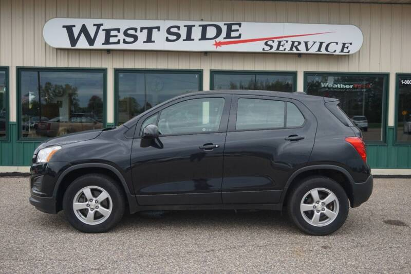 2016 Chevrolet Trax for sale at West Side Service in Auburndale WI
