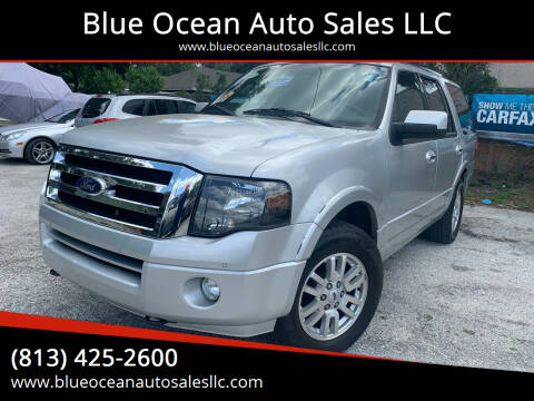 2012 Ford Expedition for sale at Blue Ocean Auto Sales LLC in Tampa FL