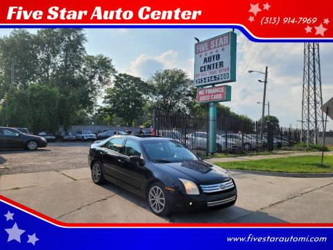 2008 Ford Fusion for sale at Five Star Auto Center in Detroit MI