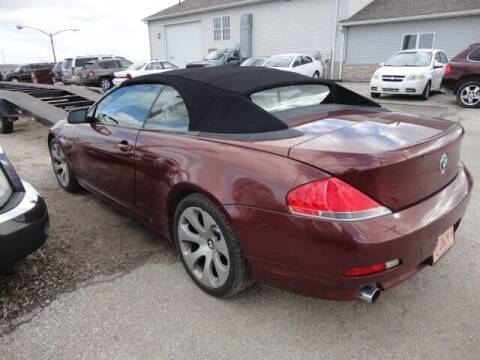2005 BMW 6 Series for sale at Carz R Us 1 Heyworth IL in Heyworth IL