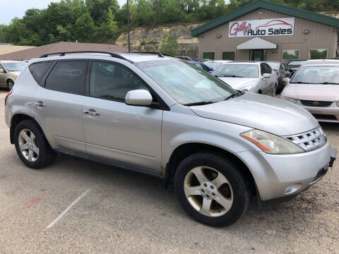 2003 Nissan Murano for sale at Gilly's Auto Sales in Rochester MN