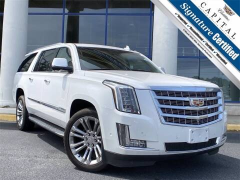 2017 Cadillac Escalade ESV for sale at Capital Cadillac of Atlanta in Smyrna GA