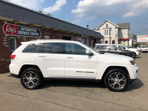2018 Jeep Grand Cherokee for sale at RAYS AUTOMOTIVE SERVICE CENTER INC in Lowell MA