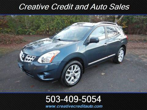 2013 Nissan Rogue for sale at Creative Credit & Auto Sales in Salem OR