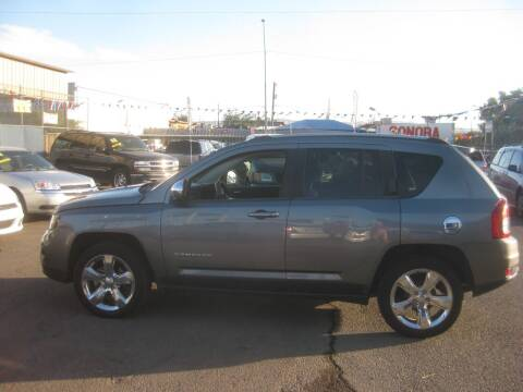 2014 Jeep Compass for sale at Town and Country Motors - 1702 East Van Buren Street in Phoenix AZ
